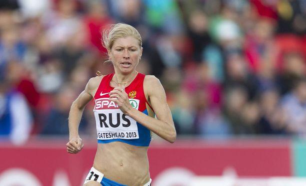 Natalja Aristarhova oli yksi sairastumiseen vedonneista urheilijoista.