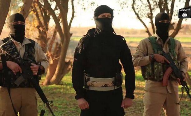 Isis-järjestö uhkaa terrori-iskuilla Ramadanin aikaan. Kuva järjestön tammikuussa julkaisemalta videolta.