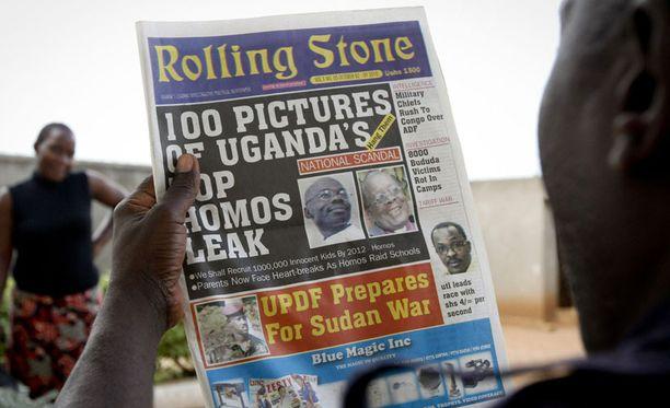 Ugandalainen Rolling Stone -lehti yllytti tappamaan homoseksuaaleja.