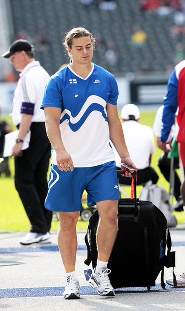 Tero Järvenpään kisa ei sujunut Berliinin MM-kisoissa.