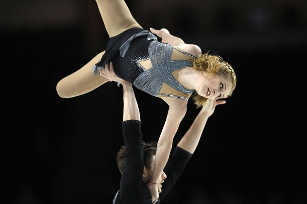 Jekaterina Aleksandrovskaja esiintyi viime vuonna Las Vegasissa.