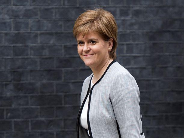 Nicola Sturgeon on toiminut Skotlannin pääministerinä marraskuusta 2014.