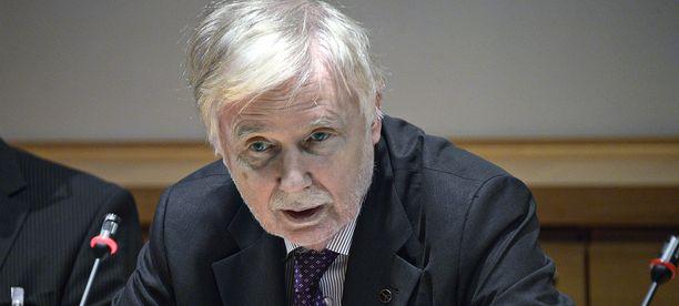 Suomen ulkoministeri Erkki Tuomioja (sd.) vastustaa Valko-Venäjän MM-kisoja.
