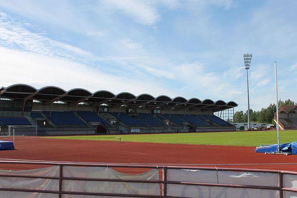 """Porin Ikuisen Tuulen Stadion. """"Tenun"""" näyttämö ja viimeinen työpaikka kentänhoitajana."""