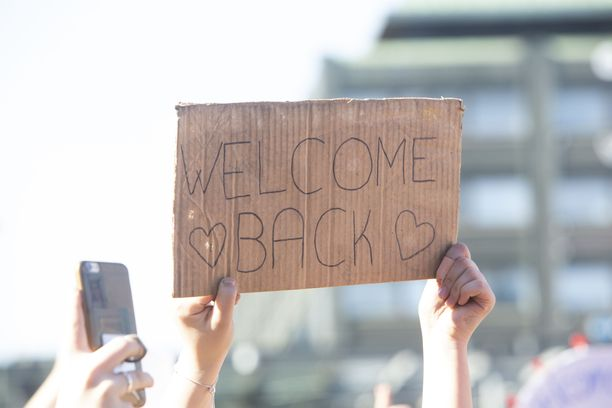 """""""Welcome back"""""""