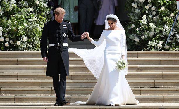 Prinssi Harryn ja Meghan Marklen häitä seurattiin tiiviisti morsiamen kotimaassa Yhdysvalloissa.
