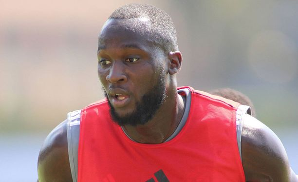 Romelu Lukaku aloitti harjoittelun uuden joukkueensa kanssa.