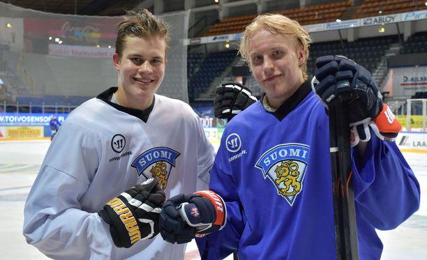 Jesse Puljujärvi ja Patrik Laine kurittivat Ruotsia.