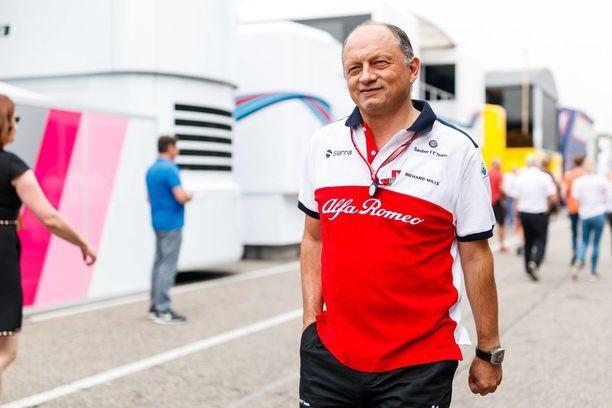Frédéric Vasseurin johtama Alfa Romeo Sauber -talli on vahvassa nosteessa.