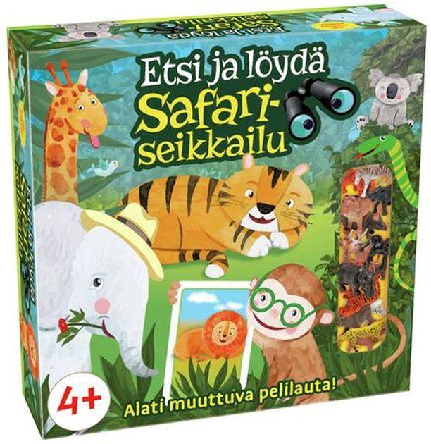 Etsi ja löydä Safariseikkailu on palkittu vuoden lastenpelinä.