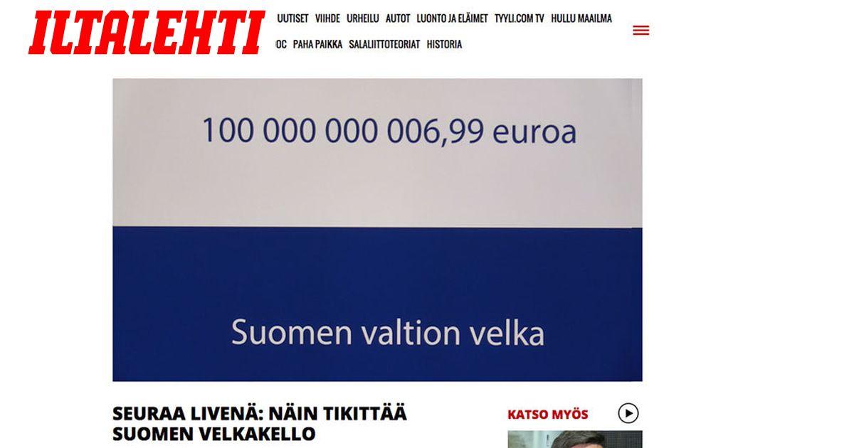 Suomen Valtion Velka 2021