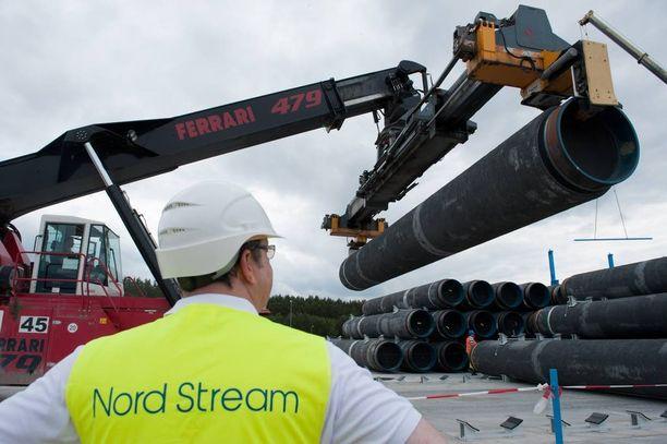 Itämeressä on jo yksi Nord Stream -kaasuputki, mutta toista suuri osa EU-maista ei halua.