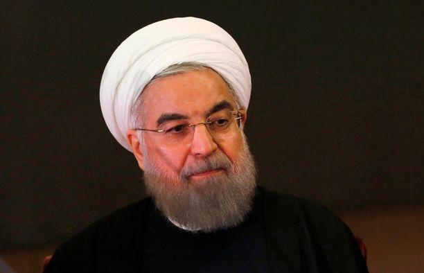 Iranin presidentti Hassan Rouhani ilmoitti uudesta rikkomuksesta Iranin ydinsopimuksen ehtoihin.