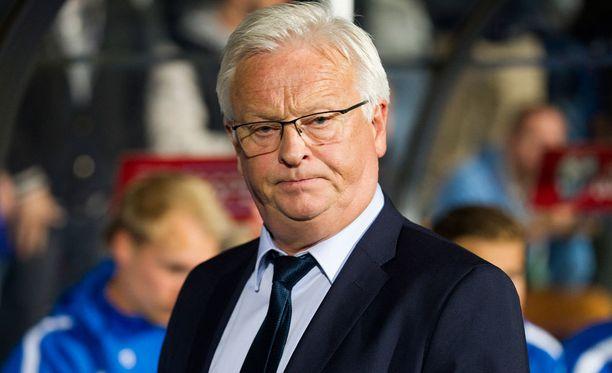 Hans Backe ei ole voittanut vielä yhtään ottelua Suomen päävalmentajana.