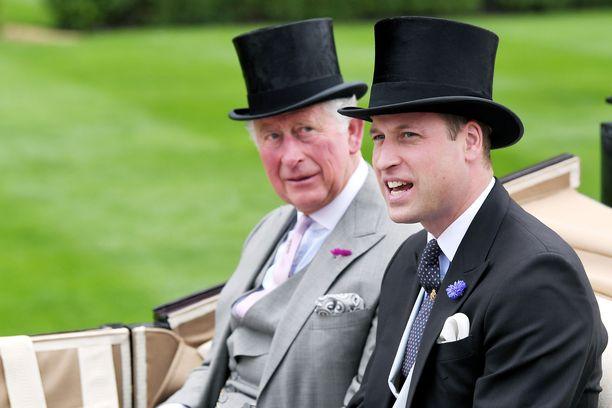 Charles ja William eivät ole aivan vakuuttuneita siitä, että Sussexit viihtyvät Kanadassa.
