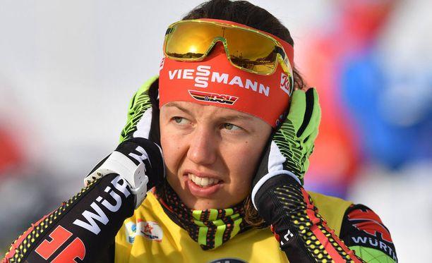 Laura Dahlmeier jättää Östersundin maailmancupin avauksen väliin.