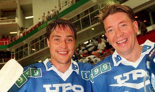 TPS halusi Teemu Selänteen ja Jari Kurrin vetonauloiksi uuteen Turkuhalliin 1991.