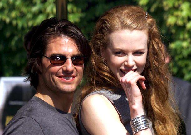 Tom Cruise ja Nicole Kidman olivat 11 vuotta naimissa. Kuva vuodelta 1999.