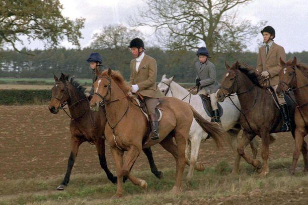 Prinssi Harry, prinssi William ja prinssi Charles ovat metsästäneet yhdessä jo vuosien ajan.