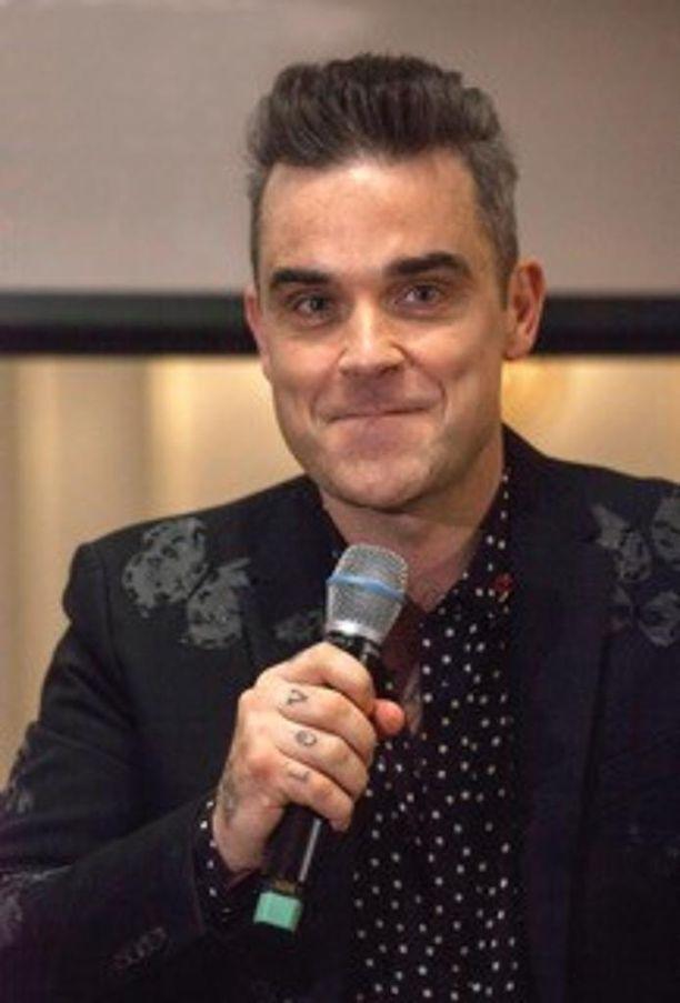 Robbie Williams saapuu Suomeen ja Tampereelle ensi syksynä.