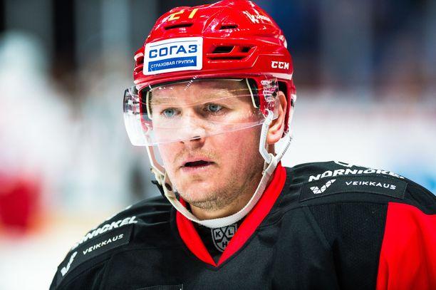 Petri Kontiola pelaa tulevalla kaudella Hämeenlinnassa.