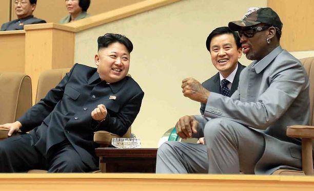 Dennis Rodman on vieraillut Pohjois-Koreassa peräti kuusi kertaa.