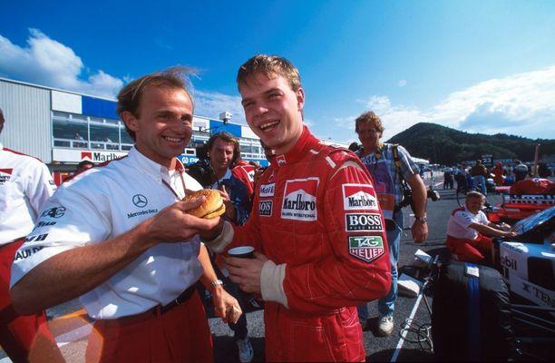 Kevin Magnussenin Jan-isä debytoi formula ykkösissä vuonna 1995, kun hän tuurasi Mika Häkkistä Japanin GP:ssä.