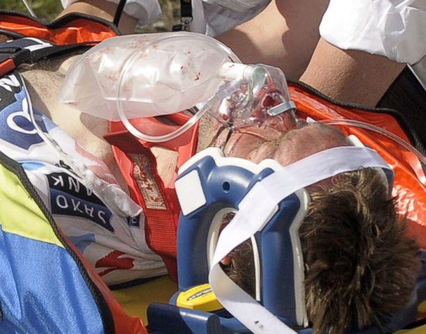 Jens Voigt kiidätettiin shokissa sairaalaan.
