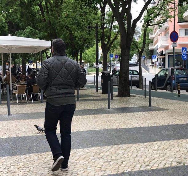Portugalin Lissabonissa on ollut toppatakkikelit.