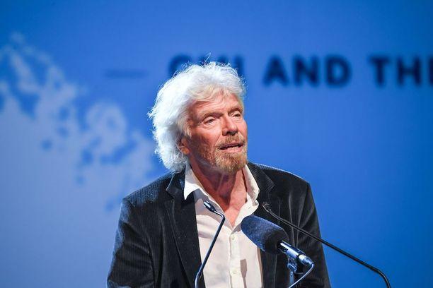 Miljardööri Richard Bransonin mukaan päivä oli surullinen kaikille.