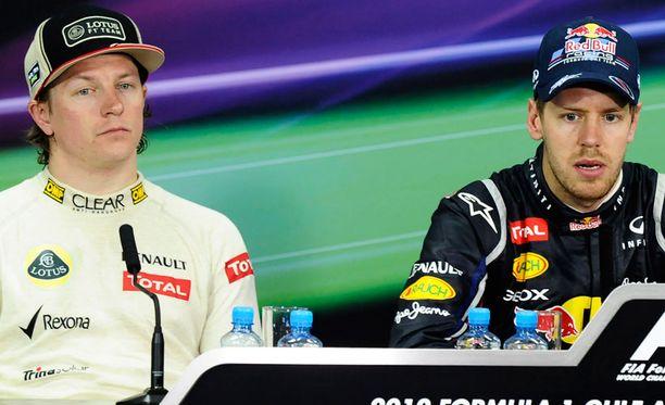 Sebastian Vettel myönsi lehdistötilaisuudessa, että kisa oli haastava.