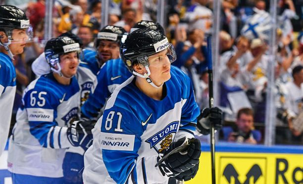 Eeli Tolvasella ja Leijonilla on niin sanotusti kaikki pelissä USA-ottelussa.