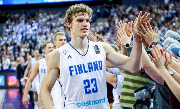 Lauri Markkanen oli Susijengin ylivoimainen pisteykkönen EM-alkulohkossa.