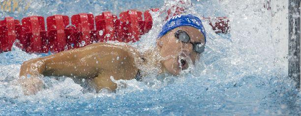 Hanna-Maria Seppälä ui välieriin lyhyen radan EM-kilpailuissa.