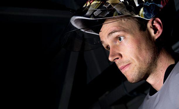 Pekka Rinne pelaa Suomen maalissa sunnuntaina Tanskaa vastaan.
