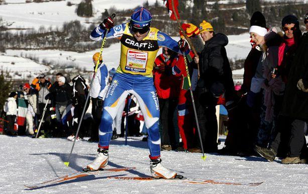 Aino-Kaisa Saarinen lykki Tour de Skin kokonaiskisan toiseksi.