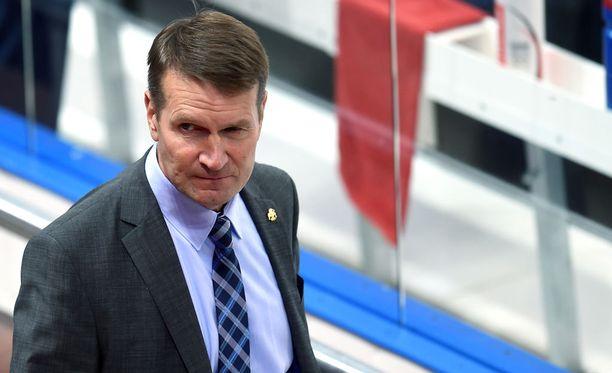 Erkka Westerlundia ei nähty lauantain Torpedo-ottelun pressitilaisuudessa.