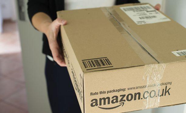 Amazon ei voi tehdä toisten lähettämille paketeille mitään. Kuvituskuva.