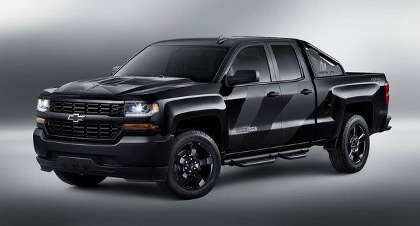 Armeijan uudesta vetyautosta ei ole julkaistu kunnon kuvia, mutta auto rakennetaan kuvan auton kaltaisen Chevy Coloradon pohjalle. Tämä auto valmistettu armeijan erikoisoperaatioiden käyttöön.