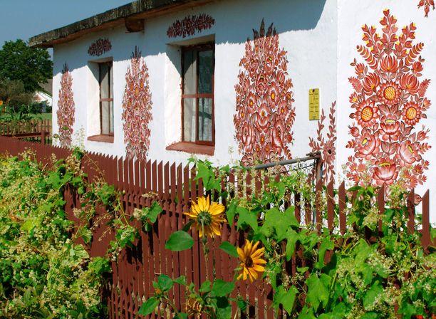 Zalipie sijaitsee reilun sadan kilometrin päässä Krakovasta.