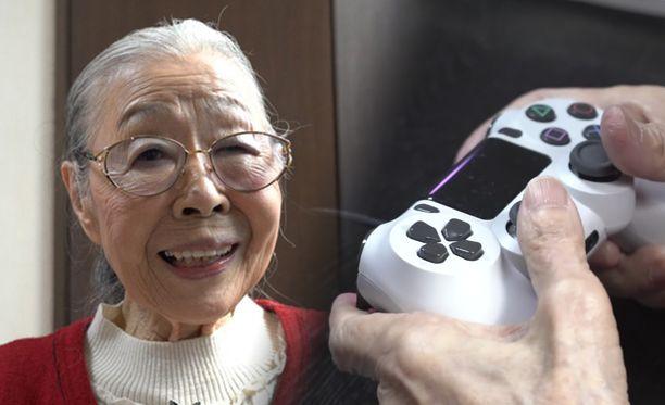 Hamako Mori on maailman vanhin pelitubettaja.