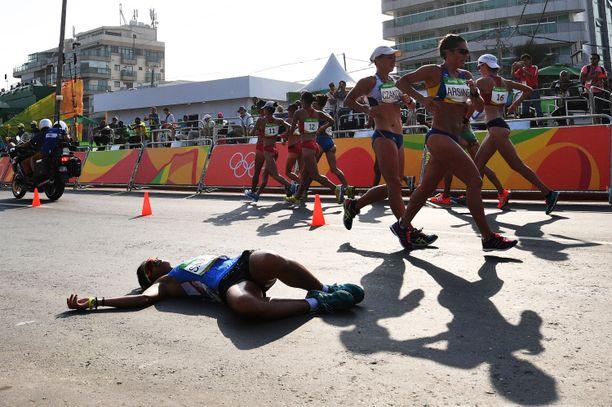 Viidenkympin kävely on absoluuttisen kestävyys- ja sietokyvyn brutaali mittari. Olympiakisojen kestävyyslajien kuningas.