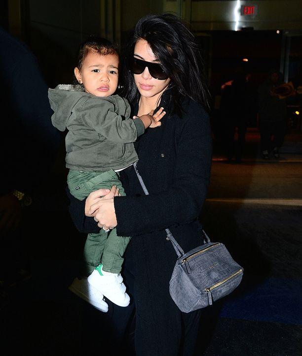 Kim Kardashianin North-tytär on alle kaksivuotias tyyli-ikoni.
