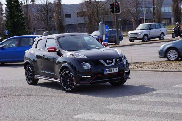Nissan Juke Nismo Rs >> Koeajossa Nissan Juke Nismo Rs Taman Ostaisi Automaattina