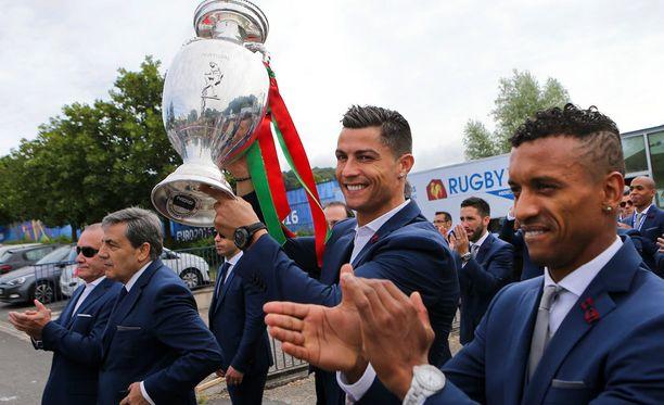 Cristiano Ronaldolla ei askel painanut maanantaina.