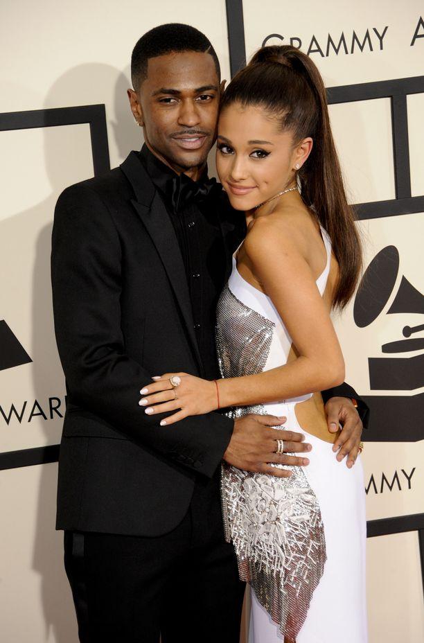 Big Sean ja Ariana Grande kuvattuna vuonna 2015.