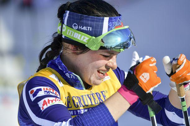 Krista Pärmäkoski treenaa kesällä todennäköisesti ruotsalaisten kanssa.