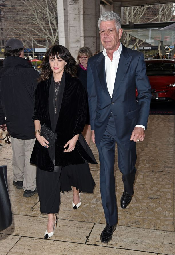 Anthony Bourdainin ja Asia Argenton suhde alkoi vuonna 2016, kun he tapasivat Bourdainin Parts Unknown -ohjelman kuvauksissa.