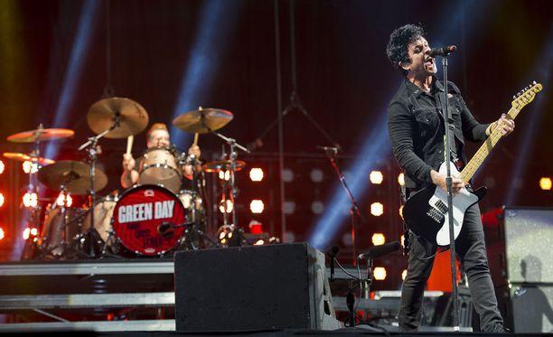 Green Day on palannut jälleen keikoille. Kuva vuodelta 2013.