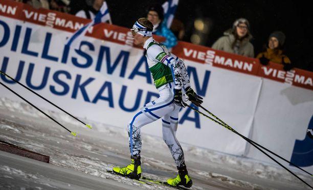 Leevi Mutru ja muu Suomen joukkue sijoittui neljänneksi. Arkistokuva.